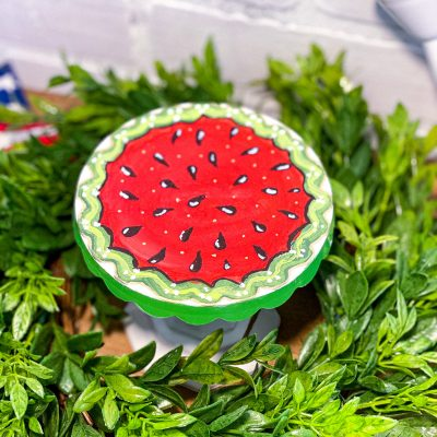 Quick Watermelon Summer Stand: Do it Yourself